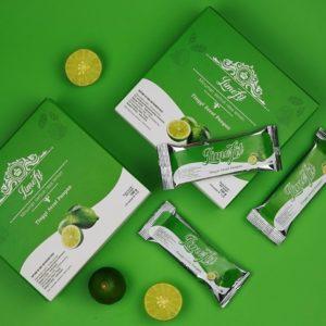 limefit minuman serbuk rasa lemon